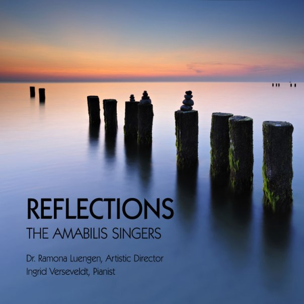 Reflections CD cover amabilis singers